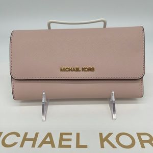 Michael Kors Trifold Wallet Powder Blush